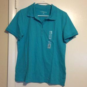 Croft & Barrow Polo Shirt Sz M NWT